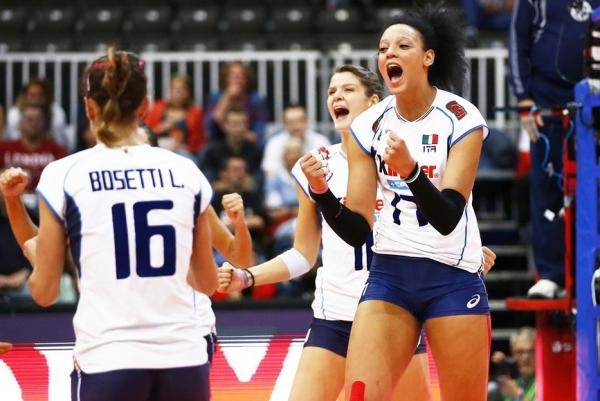 Итальянские волейболистки – в четвертьфинале чемпионата Европы