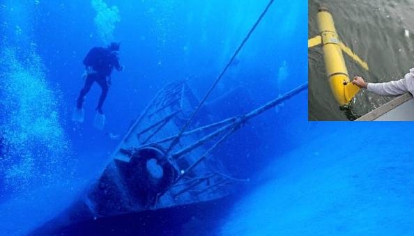 Италия. Морские дроны в поисках сокровищ прошлого