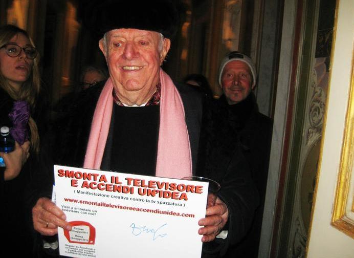 Креативная инициатива нравится итальянским знаменитостям и деятелям культуры