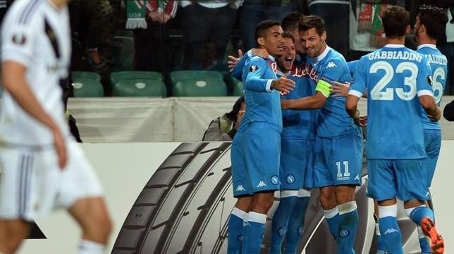 Лига Европы. Неаполитанский стиль приветствовали в Варшаве