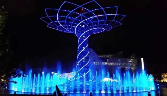 «Дерево жизни», ставшее символом выставки ЭКСПО, переедет из Милана