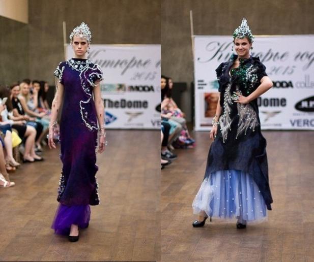 Иван Ванин и Надежда Решетникова продемонстрировали свою общую работу – коллекцию «Воображариум»