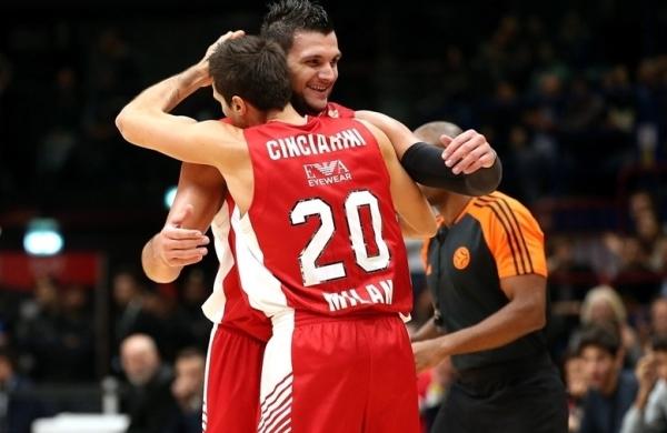 Баскетболисты из Милана едва не провалили старт Евролиги