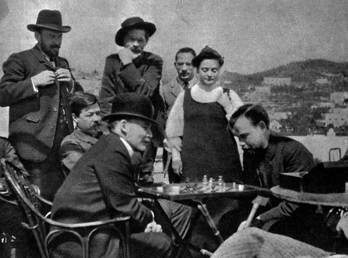 Ленин и итальянские шахматы. Международный турнир на острове Капри