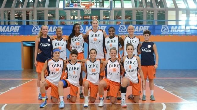 еврокубковый сезон для баскетбольных клубов - Mapei Dike Napoli