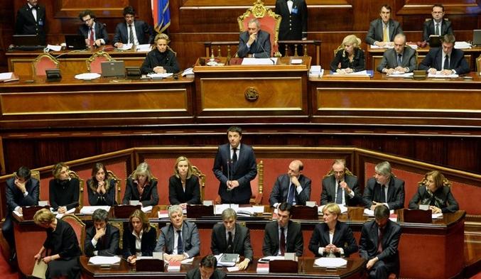 Реформа сената Италии одобрена парламентом