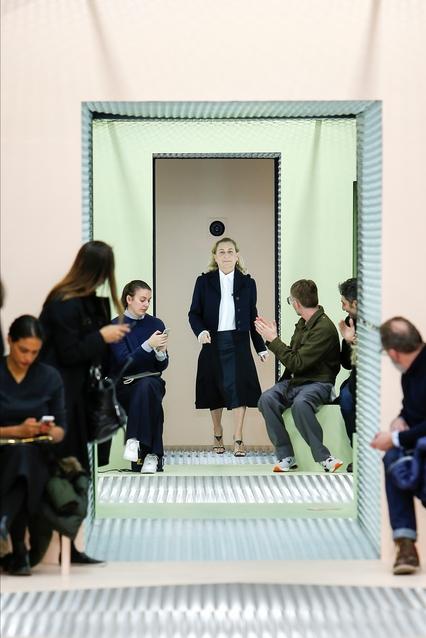 новой коллекцией от Prada сезона осень-зима-2015/2016