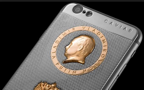 Ювелирный бренд Италии Caviar выпустил «президентский» iPhone 6s в честь дня рождения Путина