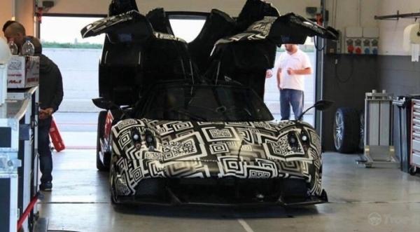 Суперкар Pagani Huayra протестировали на гоночном итальянском треке