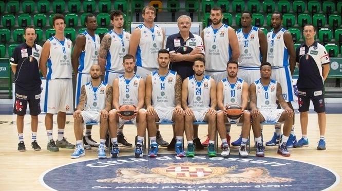 еврокубковый сезон для баскетбольных клубов - Dinamo Banco di Sardegna Sassari