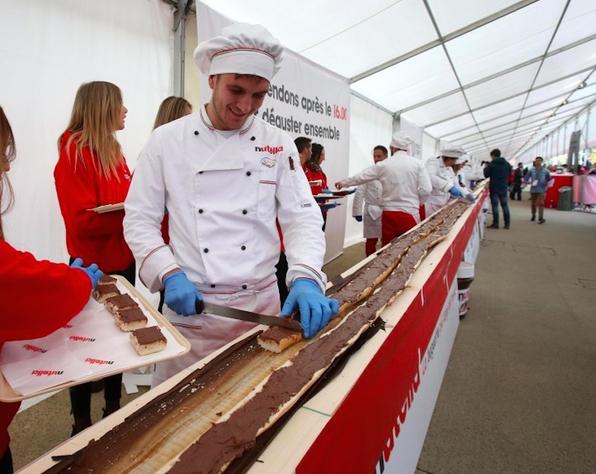 Самый длинный багет в мире выпечен в Италии