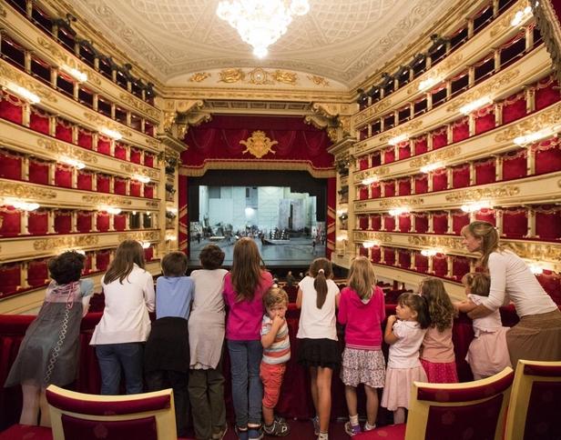 Милан: Театр Ла скала открывает детский сезон