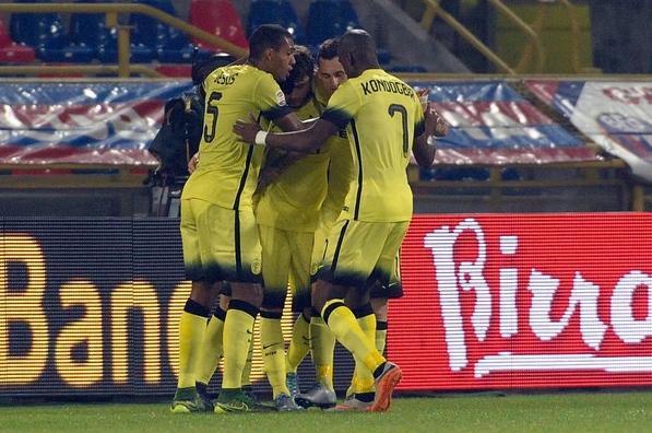 Единственный гол был забит аргентинцем Мауро Икарди на 67-й минуте