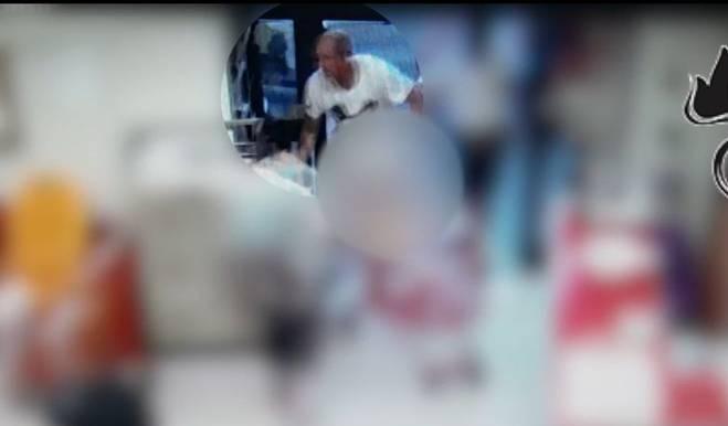 Опубликовано видео нападения на супермаркет и убийства Анатолия Короля