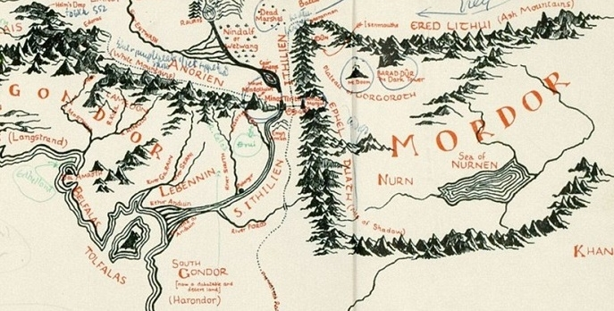 Найденная карта рассказала, какой итальянский город вдохновил Толкиена