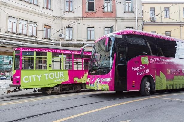 Милан из окон трамвая – это интересно