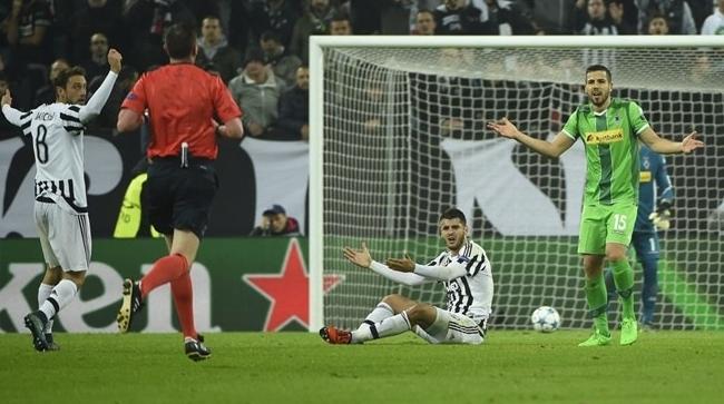 Альваро Мората имел возможность забить в шестом лигочемпионском матче «Ювентуса» подряд