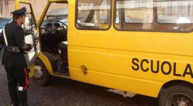 Итальянская девочка осталась в школьном автобусе