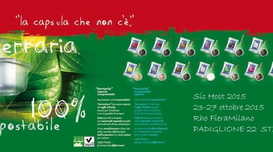 Компания Caffè d'Italia представила первую капсулу для кофе