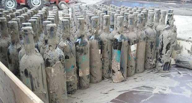 Непогода в Беневенто, под грязью похоронено 80 тысяч бутылок вина Doc
