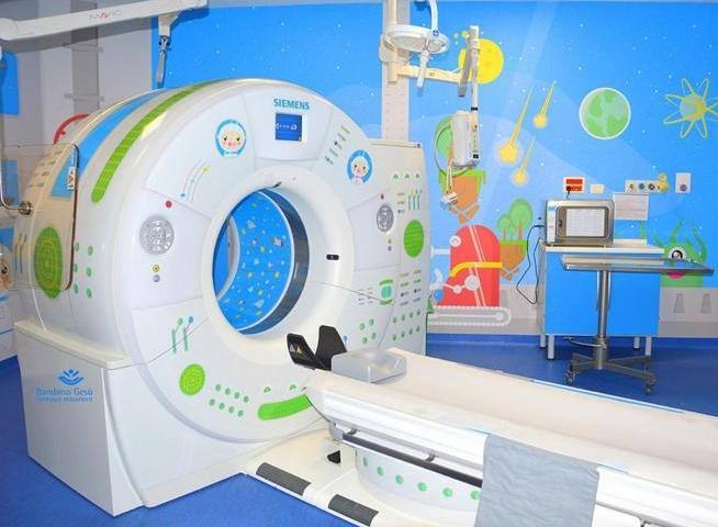Рим. В больница Bambino Gesù придумали «Астро-КАТ», чтобы не пугать детей