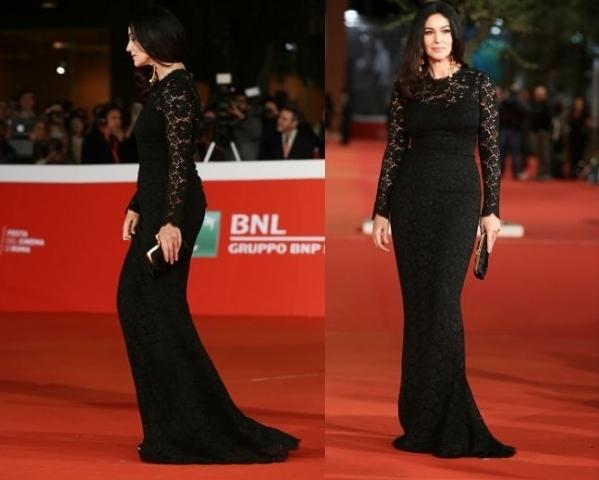 Прекрасная фигура и внешний вид знаменитой итальянки Моники Беллучи