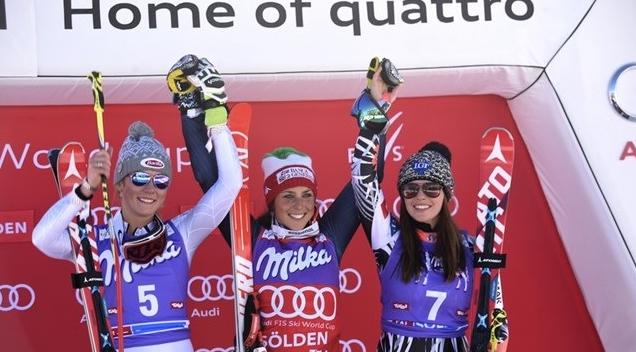 Зимний кубковый сезон стартовал с победы итальянской спортсменки