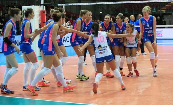 Группа F. Нордмекканика Пьяченца – Динамо Москва 3:1