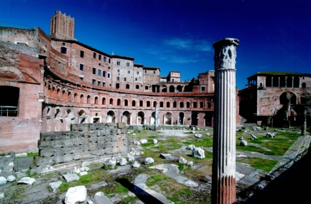 Рим. Рынки Траяна - музей будущего в дополнительной реальности