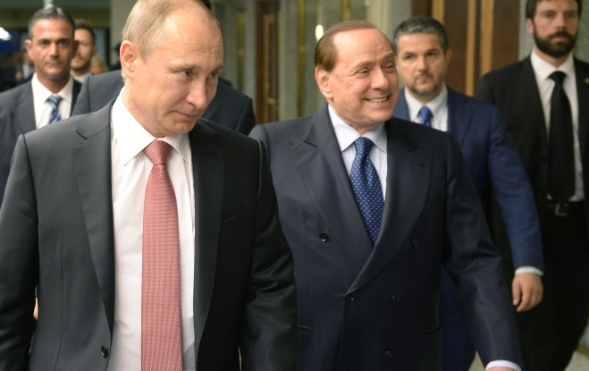 Берлускони призывает прекратить поддерживать антироссийские санкции