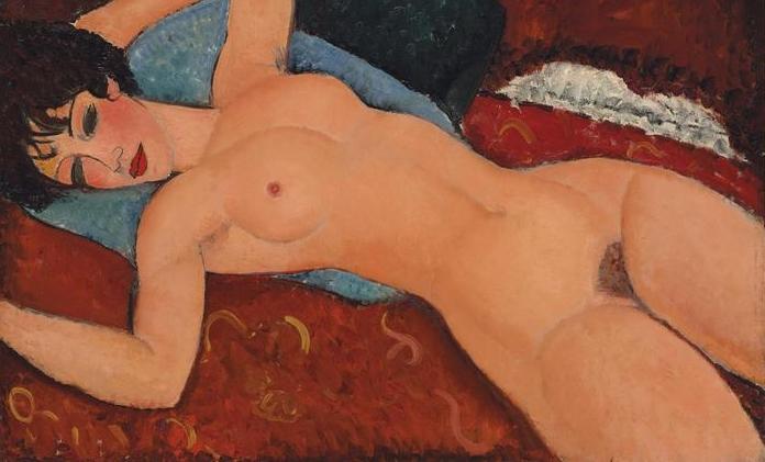 Картина Модильяни продана на аукционе за 170,4 млн долларов
