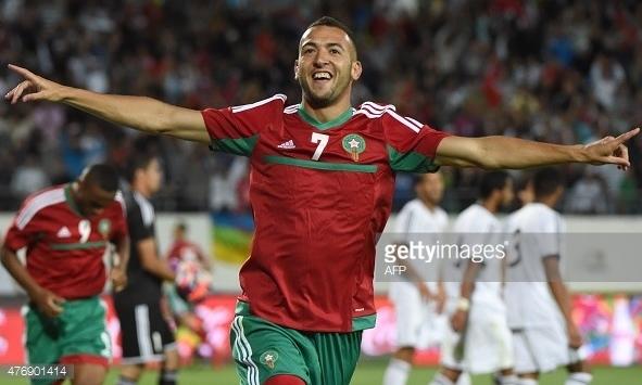 Форвард Омар Эль Каддури может провести стыковые матчи в составе сборной Марокко против Гвинеи