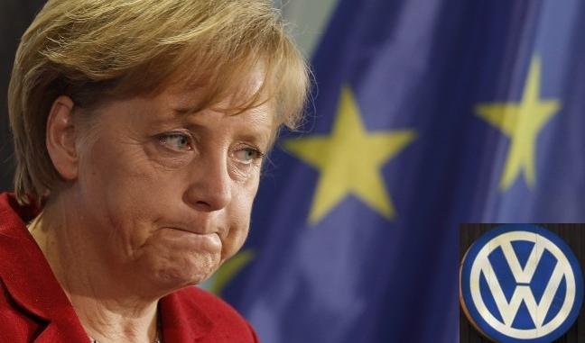 Меркель считает, что Volkswagen сумеет преодолеть кризис, который вызван «дизельным» скандалом
