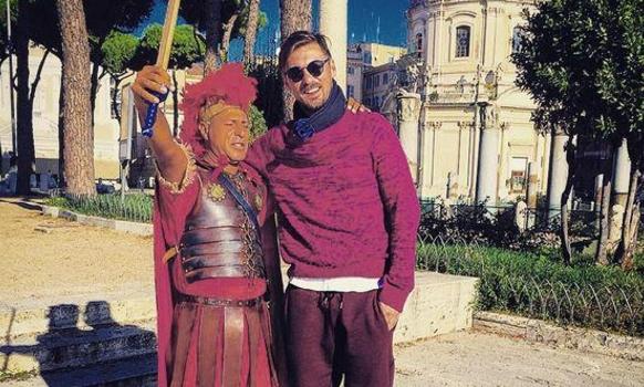 Как Милевский по Риму гулял