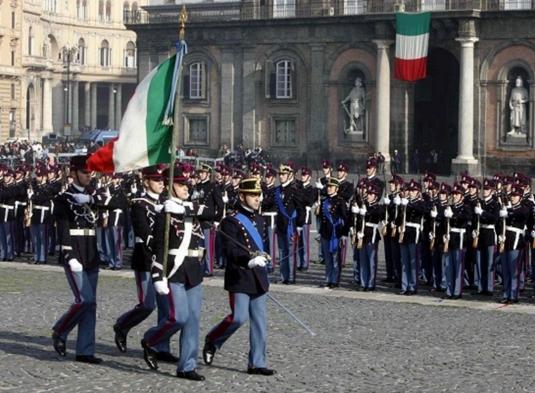 Неаполь. 21 ноября на площади del Plebiscito пройдёт присяга студентов Военной школы «Nunziatella»
