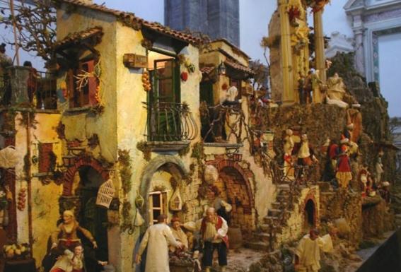 Выставка в Риме: традиционный неаполитанский Рождественский вертеп