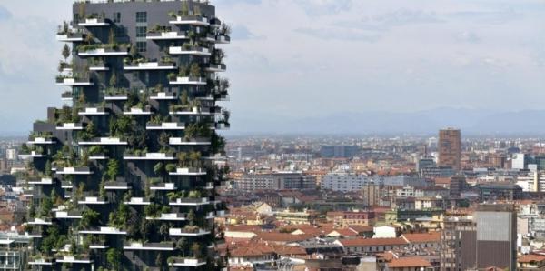 Милан. «Вертикальный Лес» - самый красивый небоскреб в мире