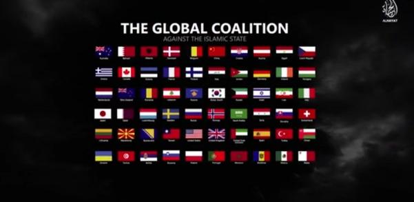 """60 стран мира попали в """"коалицию дьявола"""" против исламского государства ИГИЛ"""