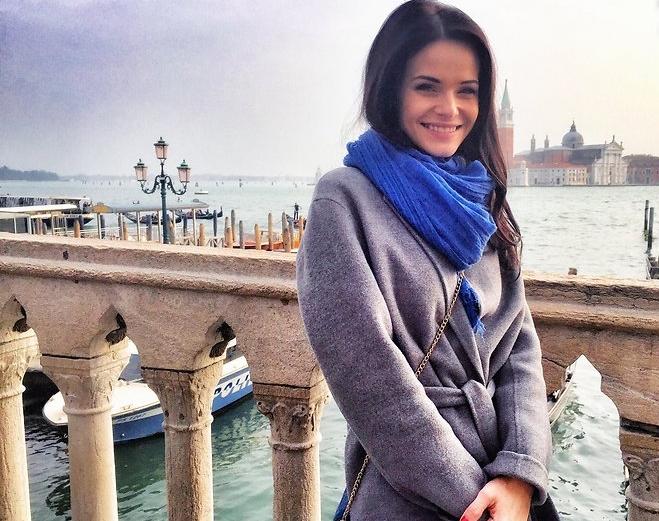Анна Пескова праздновала свой день рождения в Венеции