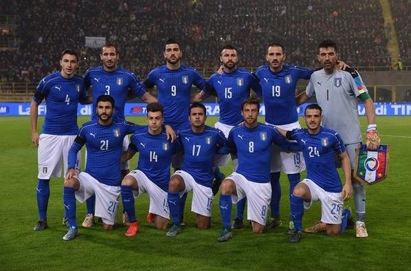 Сборная Италии не смогла удержать победный счет