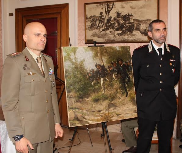 В Неаполе нашлась картина, украденная нацистами