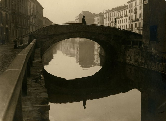 Фотовыставка: Милан — город воды