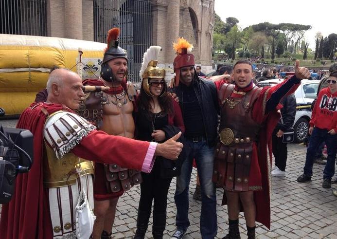 Рим. Ряженые центурионы под запретом