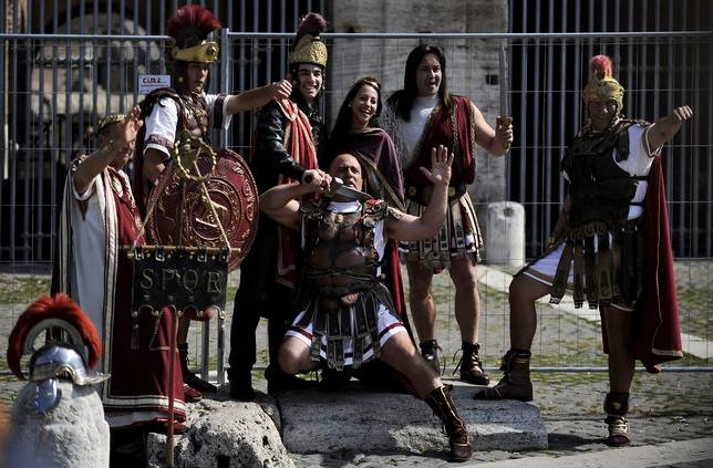 Рим изгоняет гладиаторов