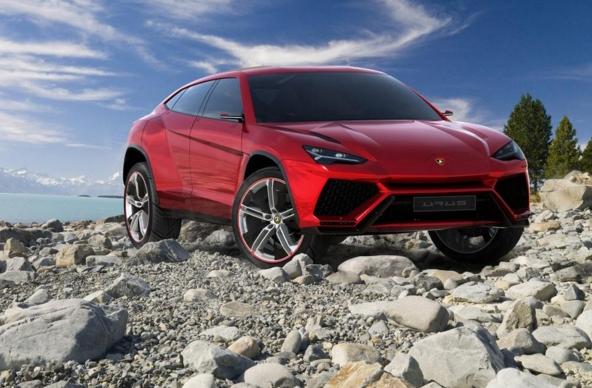 Lamborghini Urus с наддувным мотором увидит мир в 2018 году