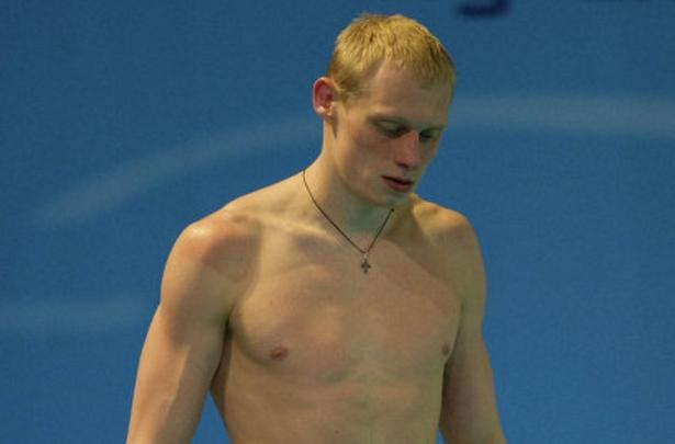Турин. Второе место на соревнованиях по прыжкам в воду получил Илья Захаров