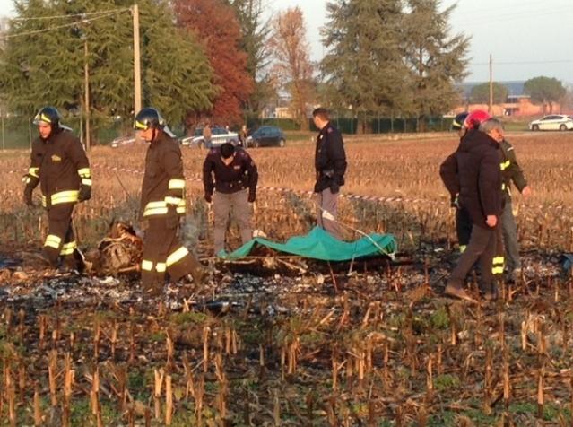 На севере Италии рухнул самолёт. Есть жертвы