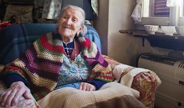 Самой пожилой европейке исполнилось 116 лет