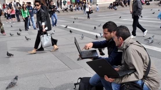 Бесплатный Wi-Fi для туристов от жителей Милана
