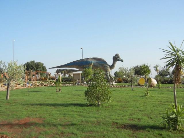 Фоджа. Самый огромный в Италии парк динозавров снова ждет гостей